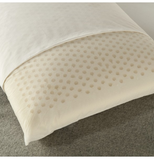 Natural Latex Pillow - Queen 43x74cm...