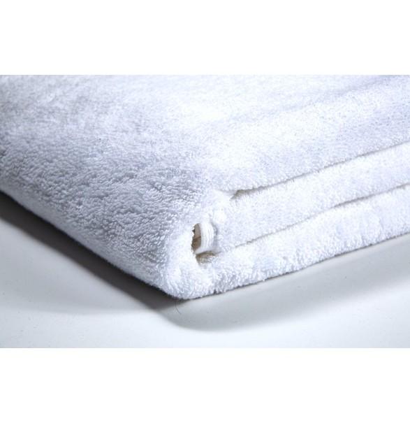 Bath Towel - White DELUXE 70x140cm -...