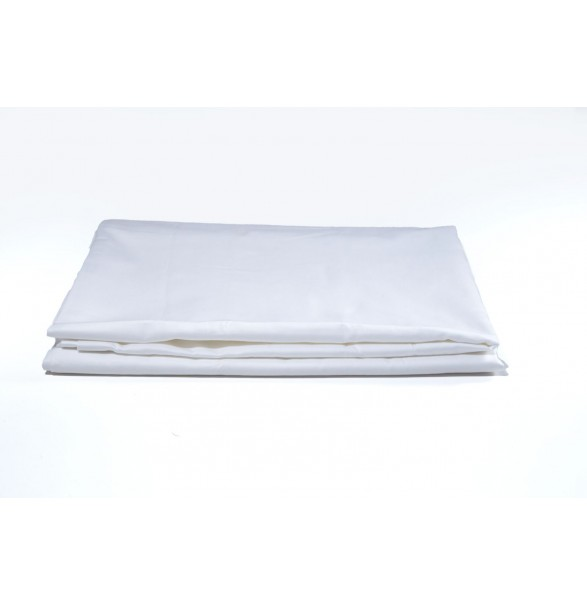 Bed Sheet White Single DELUXE 160x270cm
