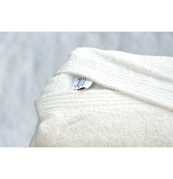 Bath Robe - White DELUXE - Standard,...