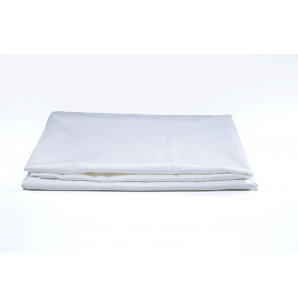 Bed Sheet White Single PREMIUM 180x280cm