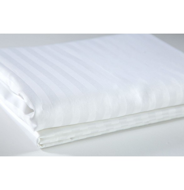 Bed Sheet White Single DELUXE 180x280cm