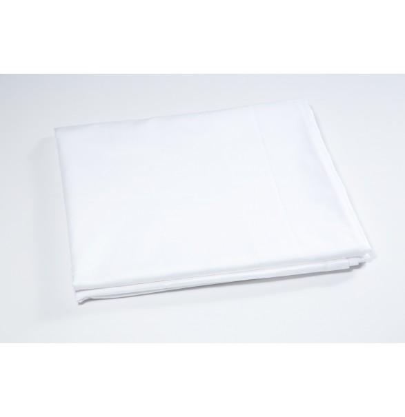 Bed Sheet White Single PREMIUM 210x280cm